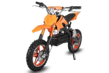 ECO Dirtbike APOLLO 36V 1000W in Orange Front