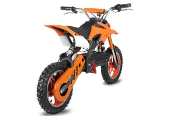 ECO Dirtbike APOLLO 36V 1000W in Orange Heck